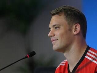 Manuel Neuer espera contar com muitos gritos de apoio ao time germânico na Arena Fonte Nova