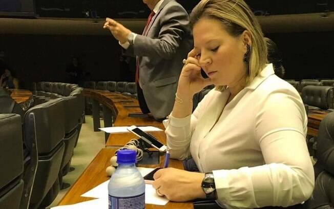Joice Hasselmann (PSL-SP), outra representante da renovação da Câmara, quer uma CPI para investigar a tragédia de Brumadinho