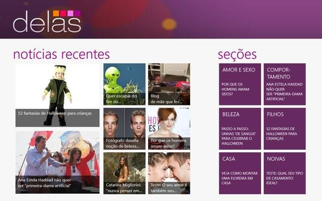 iG Delas para Windows 8