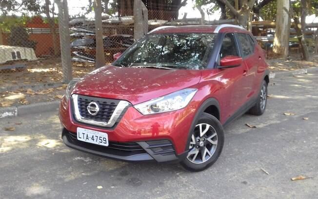 Nissan Kicks S CVT. Foto: Divulgação