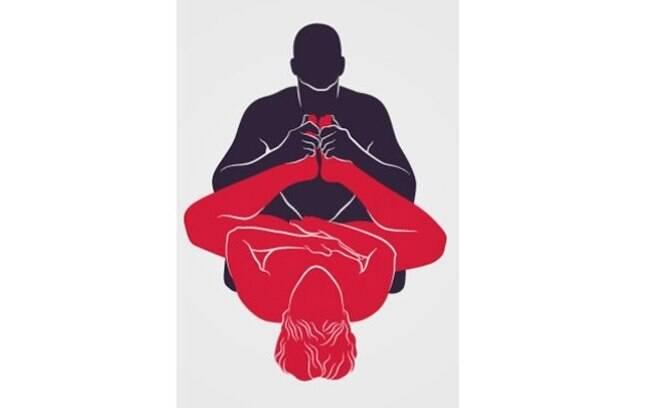 Perfeitamente alinhado com o canal vaginal, o pênis manda a ejaculação direto para o colo do útero
