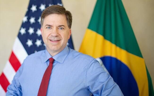 Todd Chapman, embaixador dos EUA no Brasil, anuncia aposentadoria