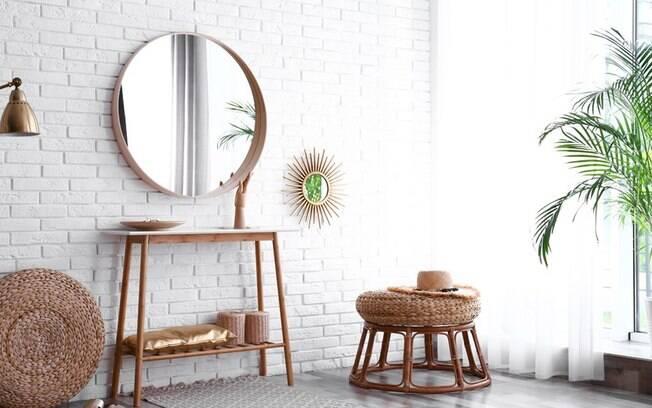 Espelho redondo: saiba como usar o item para modernizar a decorao