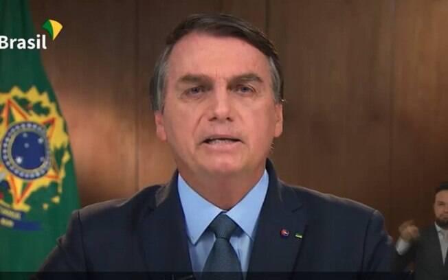 Bolsonaro discursou na ONU nesta terça-feira