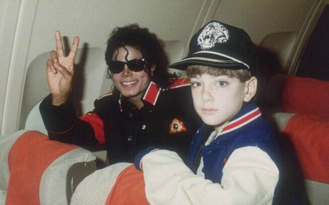Michael Jackson em cena do documentário
