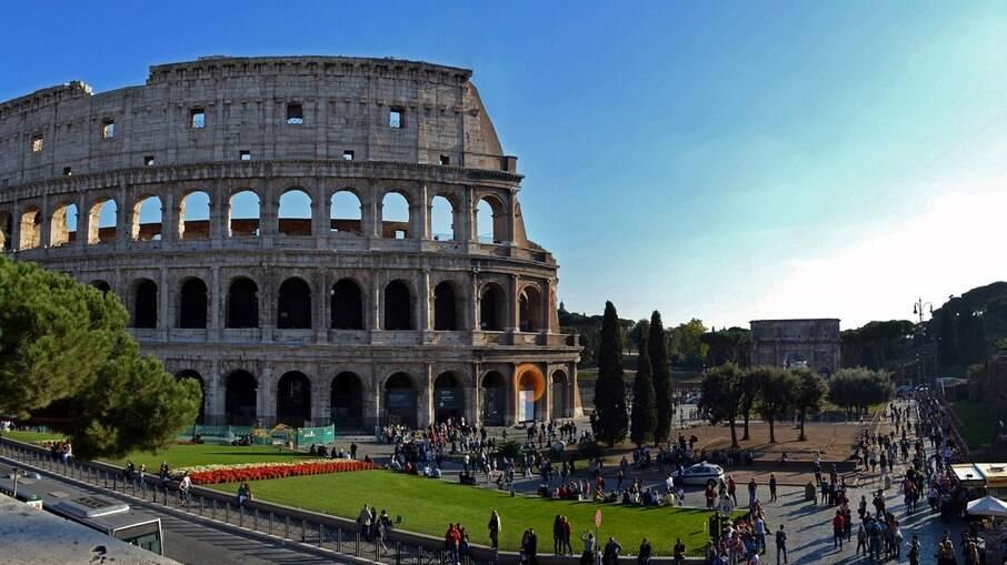 O Coliseu é o ponto turistico mais conhecido do mundo