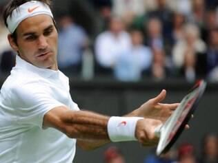 Tenista suíço passou com facilidade por seu primeiro adversário em Wimbledon