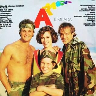 Capa do LP de 1988