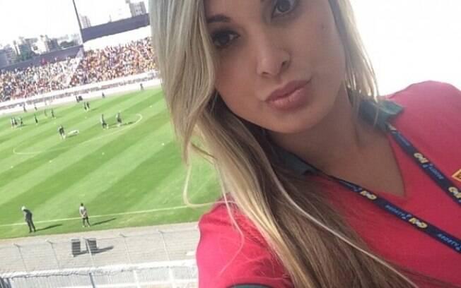 Andresa Urach: 'Vim dar boa sorte ao C7 e fui expulsa do campo, tomaram minha credencial de imprensa, como se eu tivesse culpa de tudo'