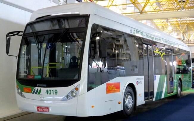 Electrabus é um modelo híbrido, uma das principais novidades do setor de transporte público