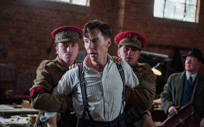 Benedict Cumberbatch em 'The Imitation Game'