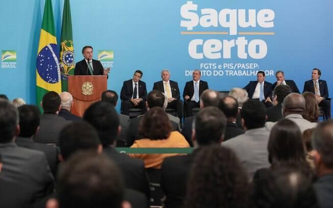 Saque-aniversário do FGTS deve movimentar R$ 150 bilhões, de acordo com o Ministério da Economia