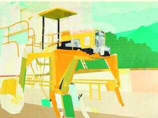 Série de pinturas do artista paulista David Magila batiza a exposição