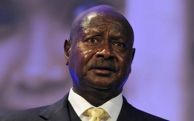 O presidente de Uganda Yoweri Museveni tem patrocinado a política antigay do país africano