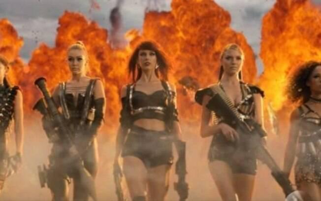 Taylor Swift e seu exército de maravilhosas no clipe de