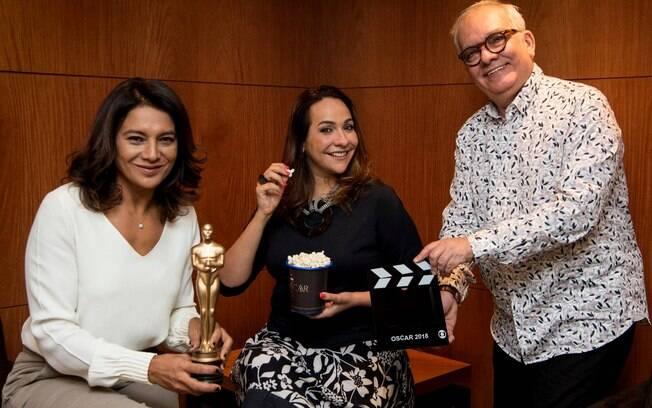 Dira Paes, Maria Beltrão e Artur Xexéo formam o trio da transmissão do Oscar 2018 na Globo