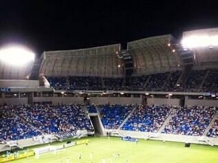 Apesar de festa bonita dentro do estádio, baderneiros trouxeram pânico e terror fora da Arena das Dunas