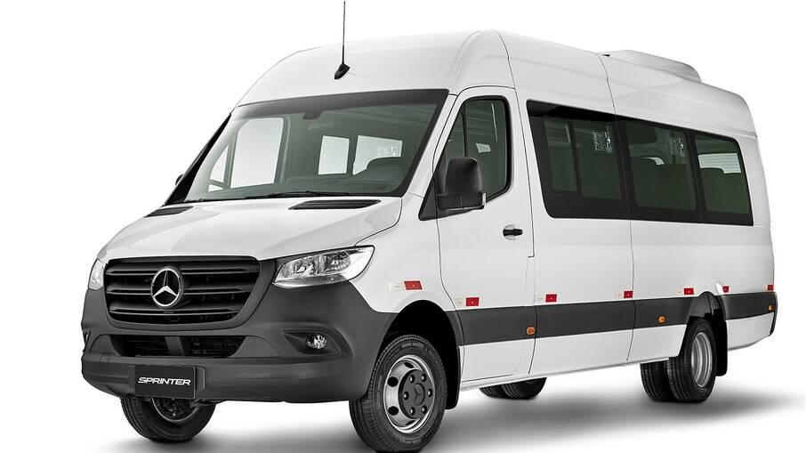 Mercedes-Benz Sprinter é uma das vans mais vendidas no Brasil e na América Latina