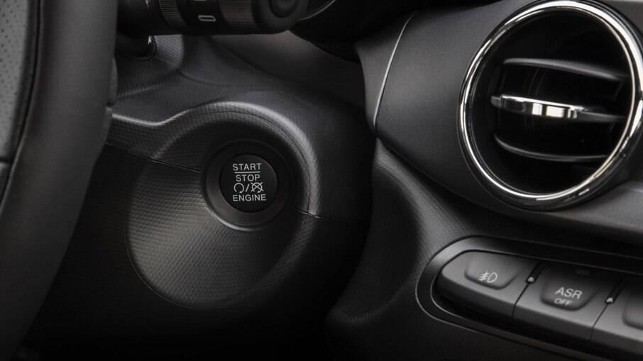 Partida por botão é outro novo opcional do Argo Trekking 1.3 da linha 2021, que tem boa ergonomia