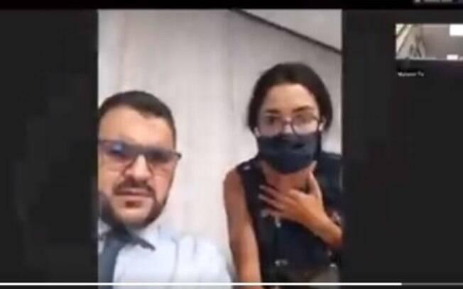 Repórter da BBC Arábia é interrompida por explosão