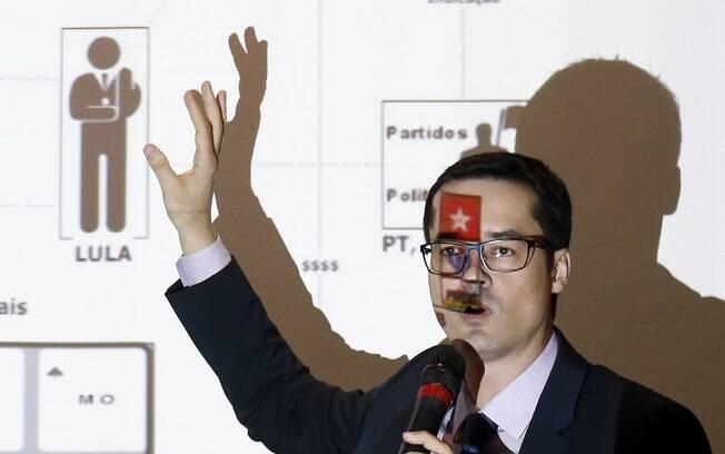Queixa de Lula contra Dallagnol por PowerPoint foi arquivada.