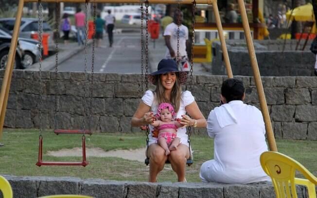 Fernanda Pontes é casada com Diogo Boni
