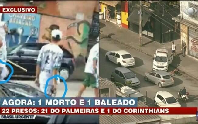 Briga entre torcedores de Corinthians e Palmeiras deixa um morto e outro ferido na Zona Sul de São Paulo