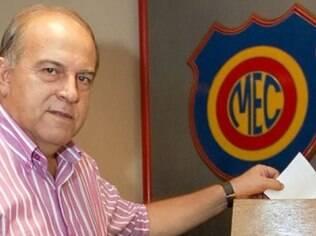 Elias Duba, presidente do Madureira