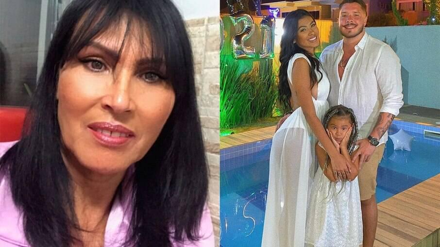 Ronan Souza teria proibido a mãe de Pocah de ver a neta
