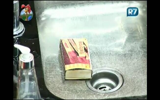 Caixa de fósforos poderia ser causadora de incêndio na sede