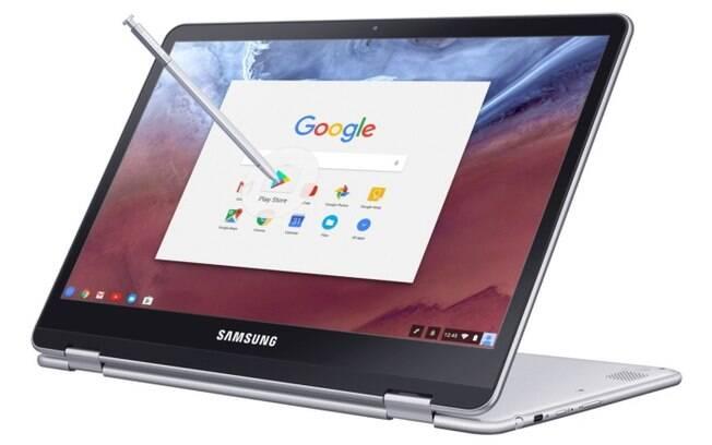 De acordo com a Samsung, caneta da nova geração do Chromebook dará mais precisão sobre o que é escrito na tela