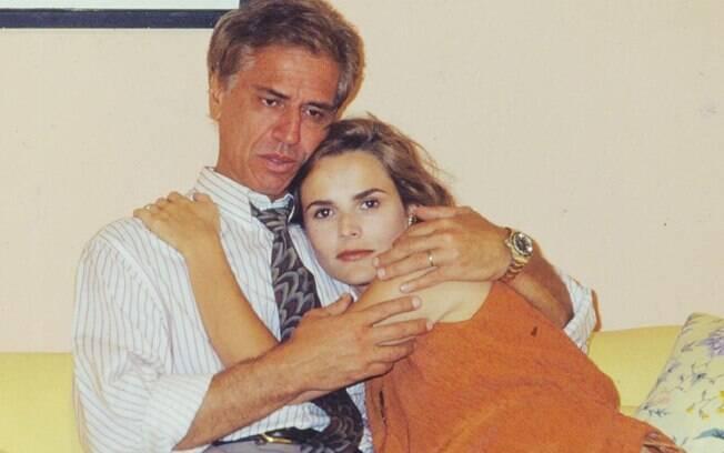 Nuno Leal Maia e Bia Seidl estavam num dos principais núcleos da série