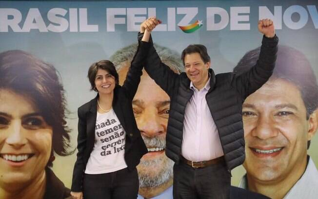 Lula é candidato à Presidência, mas não participará do debate da Band nesta noite; Haddad e Manuela farão evento próprio