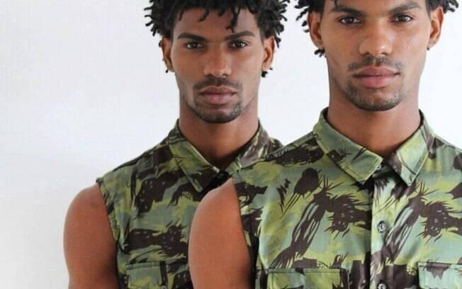 Sucesso em dose dupla! Os modelos Juan e Raul Moa são gêmeos e querem conquistar o mundo em 2018