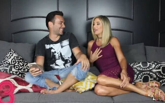 Ticiane Pinheiro fala sobre sexo no programa de Mazzafera no YouTube