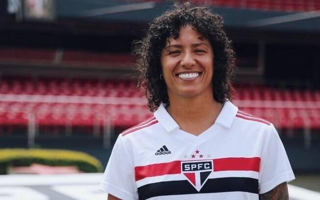 São Paulo contratou Cristiane para o seu time de futebol feminino