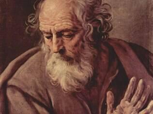 São José, o padroeiro dos trabalhadores, pintado pelo italiano Guido Reni (1575–1642)