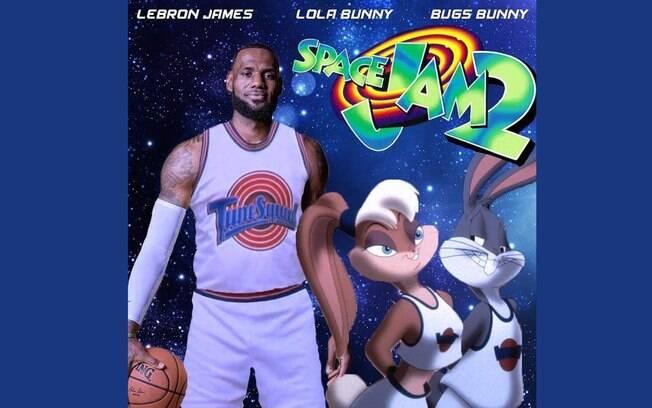 LeBron James é um dos astros que estará em