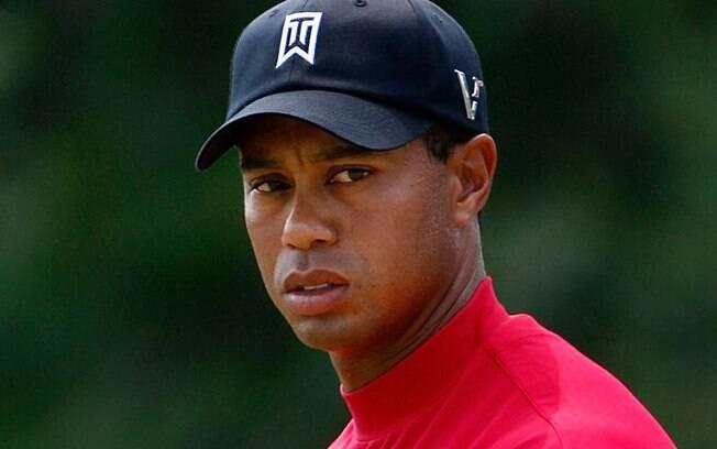 Tiger Woods é 14 vezes campeão de torneios Major