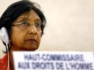 Alta comissária de Direitos Humanos da ONU, Navi Pillay pede que jogadores se assumam