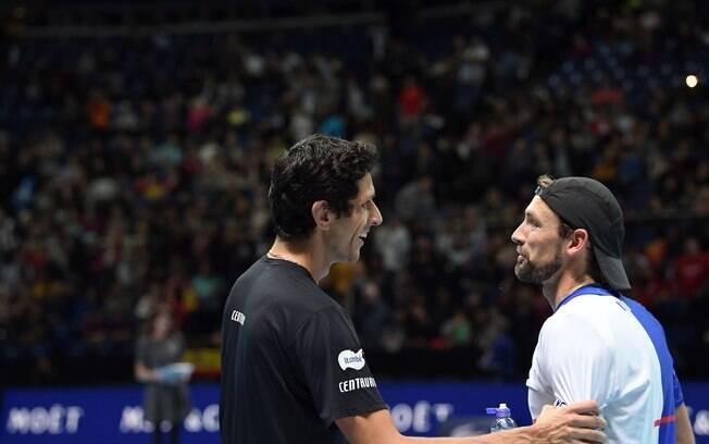 Marcelo Melo e Lukasz Kubot formam a melhor dupla da atualidade do tênis
