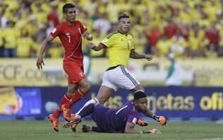 Colômbia corre riscos, mas estreia nas Eliminatórias com vitória sobre o Peru
