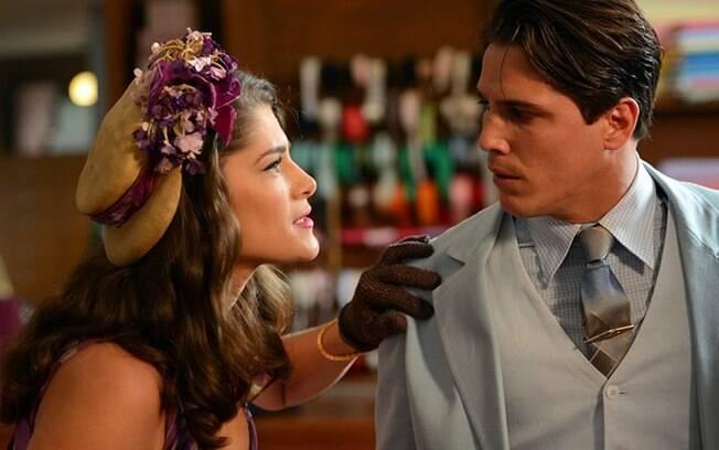 Depois de ser amante de um homem casado, Diana acaba se envolvendo com outro, Braz, intepretado por Rômulo Arantes em novela
