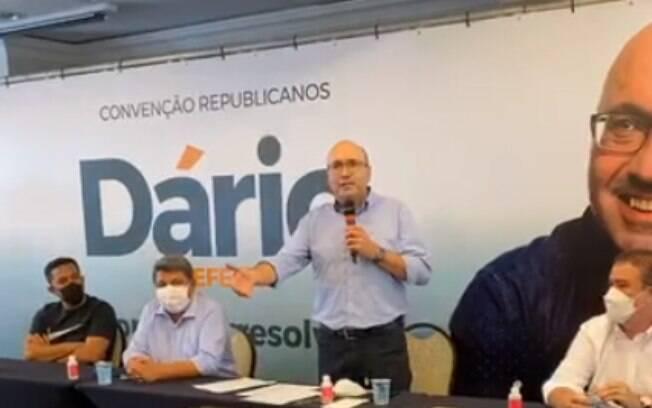 Dário Saadi é o candidato do Republicanos à Prefeitura de Campinas.
