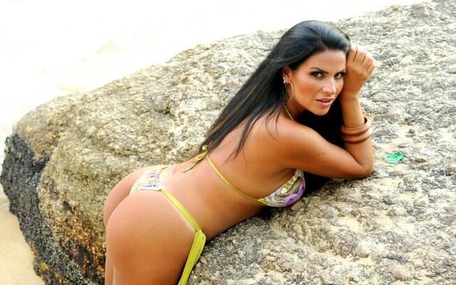 Solange Gomes posa para ensaio do iG. Veja todas as fotos no fim da página