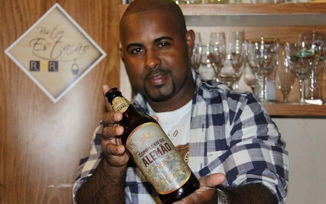 Marcelo Ramos e a cerveja Complexo do Alemão