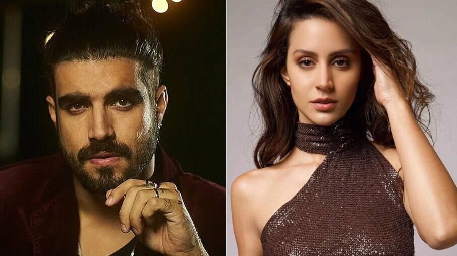 Larissa Bonesi nega novo envolvimento com Caio Castro