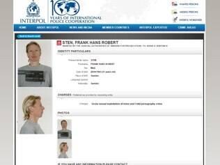 Sten estava sendo procurado desde 2008