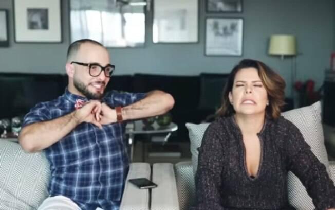 Em entrevista para Mahmoud, Fernanda Souza fez revelações