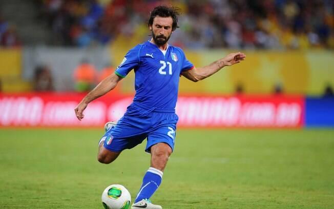 Andrea Pirlo, da seleção da Itália